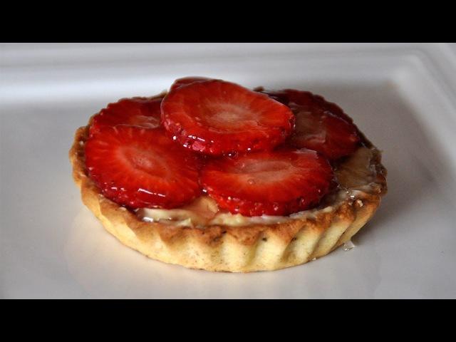Tartaletas de fresas - Recetas Mallorquinas
