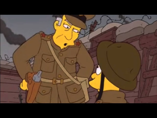 The Simpsons - Grandpa in World War 1