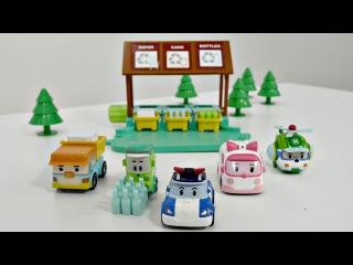Robocar Poli Oyuncakları: Geri Dönüşüm İstasyonu