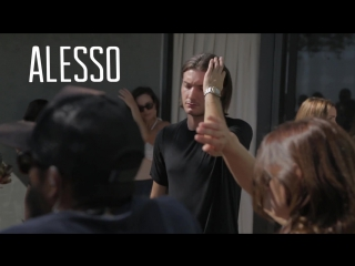 DJ Alesso on the We Are Your Friends Set