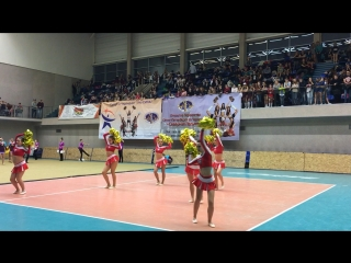 Кубок СПб Cheer-freestyle Pom team Titans 12.17.16