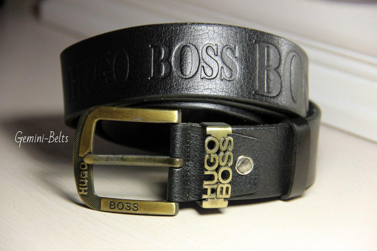 Кожаный ремень Hugo Boss