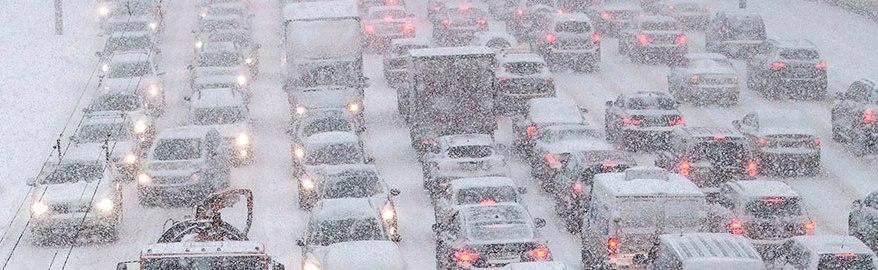 Дороги Москвы: сегодня ожидаются большие пробки