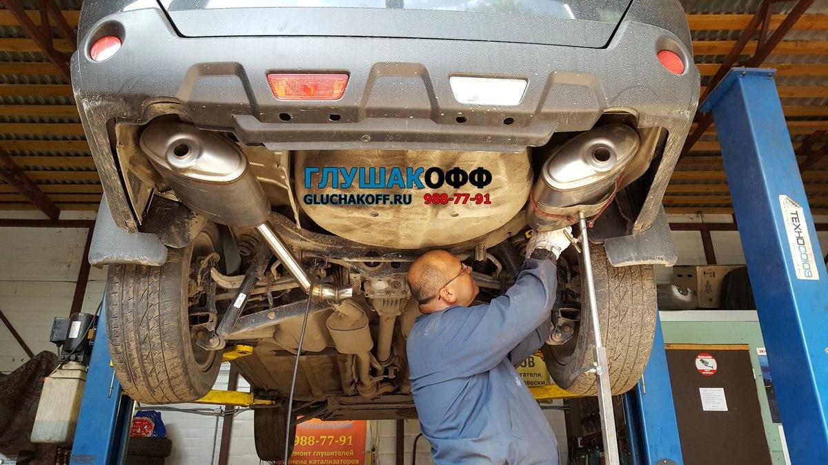 Разводка и тюнинг выхлопа на Nissan X-Trail