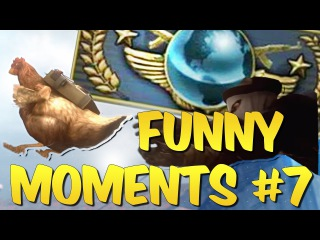 CS GO FUNTAGE - Global Elite Adventures & Funny Moments #7