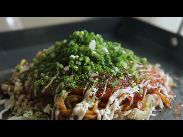 [SUB] 고독한 미식가 히로시마풍 오코노미야키 : hiroshima style okonomiyaki : 꿀키