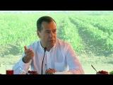 Первые итоги сельскохозяйственного сезона обсудил Дмитрий Медведев сфермерами Астраханской области. Новости. Первый канал