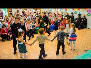 В городе Михайловка прошёл пасхальный праздник для воскресных школ города.