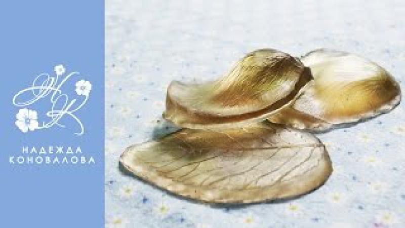 Как сделать молд листа и молд лепестка розы своими руками из эпоксидной смолы
