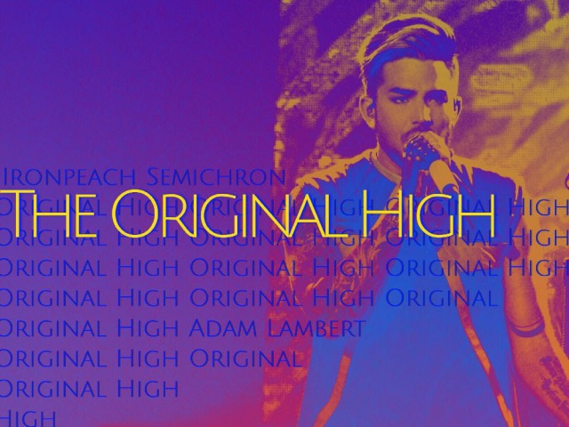 Adam Lambert - The Original High (Fan made music video)