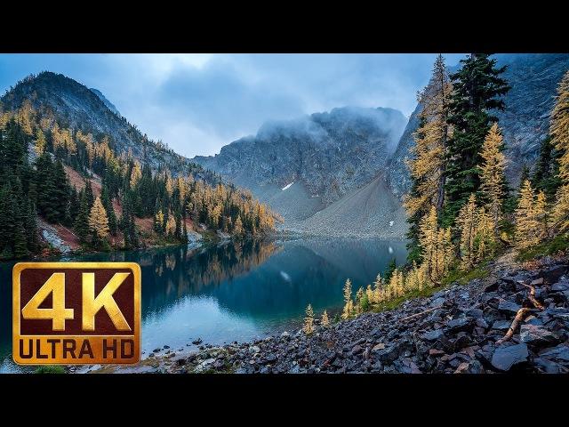 4K Scenic Nature Documentary Beautiful Washington/Autumn Nature Scenery - Episode 5 in 4K