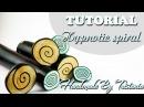 🎩Polymer clay tutorial: Cane Hypnotic Spiral🎩Мастер-класс: Кейн Гипнотическая Спираль 🎩DIY🎩