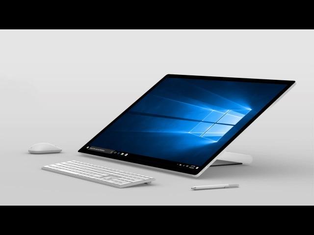 Презентация Surface Studio за 7 минут