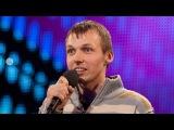 Comedian Gatis Kandis - Britain's Got Talent 2012 audition