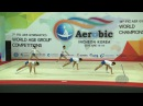 Thailand (THA) - 2016 Aerobic Worlds, Incheon (KOR) - Qualifications Group