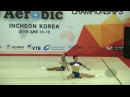 Indonesia (INA) - 2016 Aerobic Worlds, Incheon (KOR) - Qualifications Mixed Pair