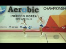 Thailand (THA) - 2016 Aerobic Worlds, Incheon (KOR) - Qualifications Mixed Pair