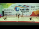 Hungary (HUN) - 2016 Aerobic Worlds, Incheon (KOR) - Qualifications Group