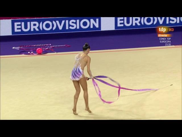 Carolina Rodríguez. 2016 European Championships. AA. Ribbon