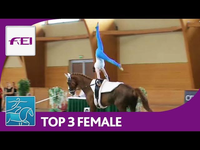 Top 3 Female - CVI Pezinok 2016