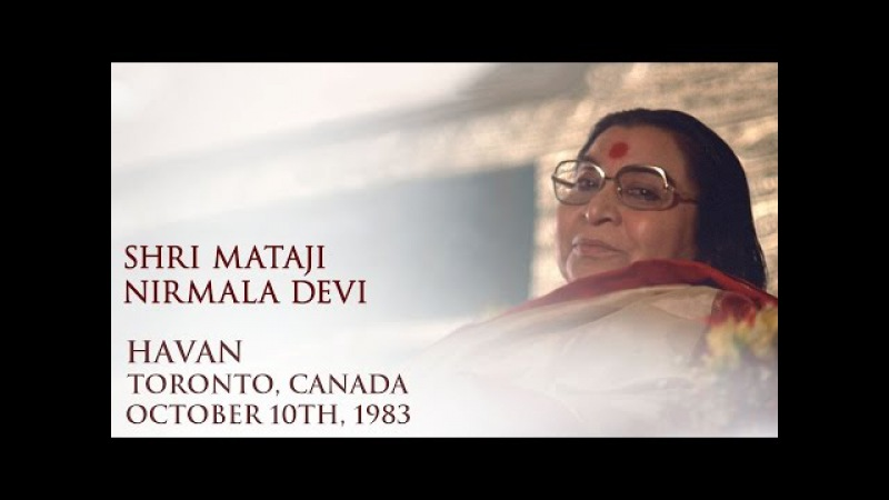 __ ! 1983-1010 Havan for new yogis, Toronto, Canada
