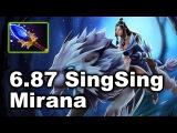 Dota 2 - 6.87 Patch - Scepter + Mirana by SingSing