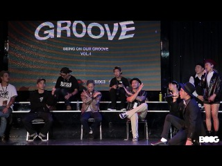 Open side wild card 2 Firebac vs JayGee | 20161127 Being on our grooving Vol.4
