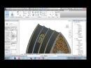 Revit - Familias para Revit - Modelando um Vitral com telhado como Hospedeiro.