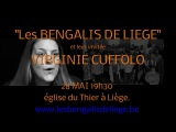 28 mai 2016 concert des bengalis de Liège avec en invitée VIRGINIE CUFFOLO