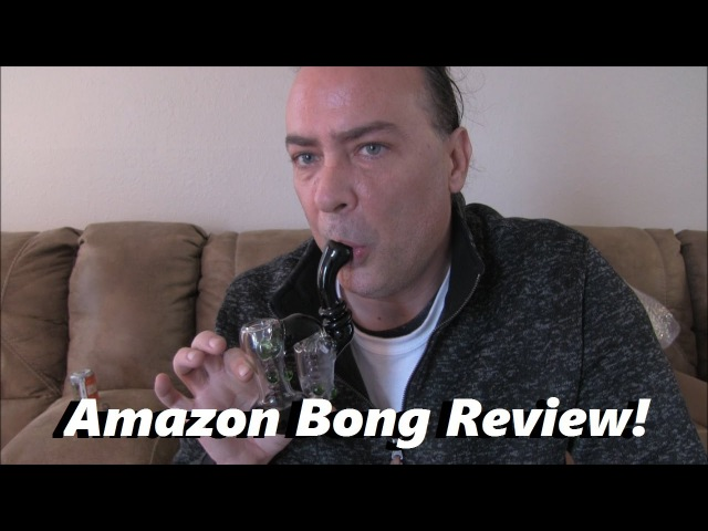 Smokin On a Double Bubbler Water Pipe! | EpicHerbReviews