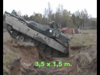 This is How A Tank Crosses Trenches At Low Vs High Speeds