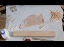 Как сделать из спичек машинку Камаз своими руками Поделки из спичек