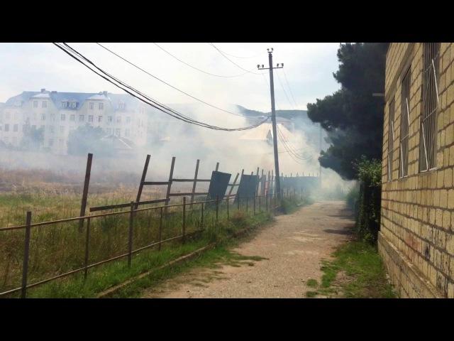 Пожар в г.Дербент 17. 06.2016г