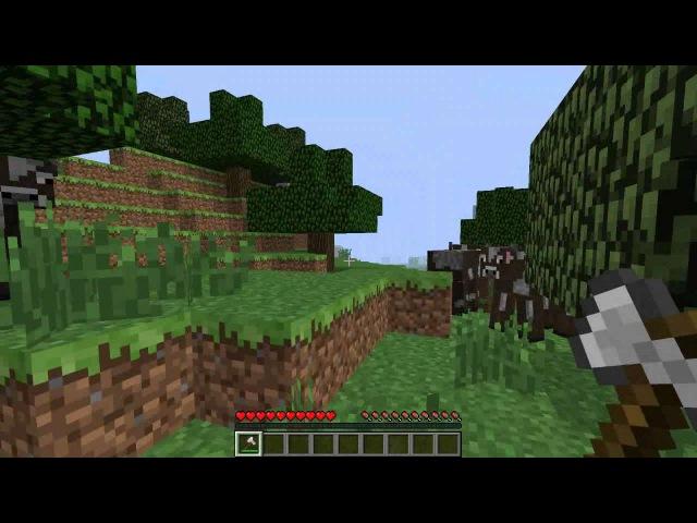 Minecraft сириал санек в биде 3