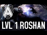 LVL 1 ROSHAN BY ALLIANCE vs NA'VI - TI 6