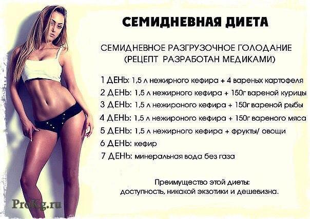 Как похудеть на 10 кг за 10 день упражнения