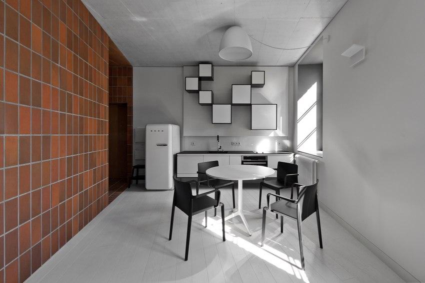 Интерьер квартиры 45 м в Литве.