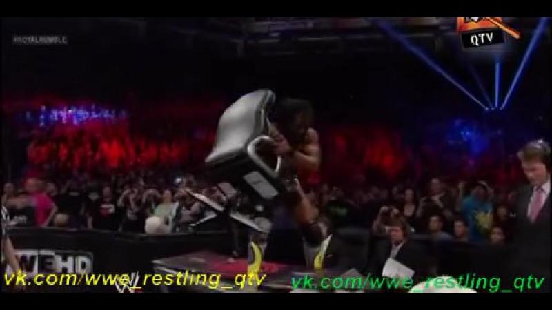 [WWE QTV]Cамці Савців.PPV]☆[Royal Rumble](2013)]☆[Королевская Битва]QTV/vk.com/wwe_restling_qtv