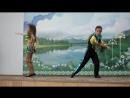 "танец ""Сальса-Макарена"" Камила и Роман"