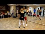 Кирилл и Олеся — Резюме с мастер-класса по сальсе