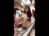 Middle of the supermarket