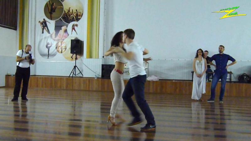 Zouk Couples Teachers. Ярослав Гурченко и Ольга Кухарук. Kharkov Z'n'B Competition 2016