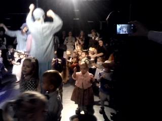 Детская дискотека на Новогоднем утреннике