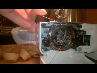 Классическая поломка швейной машинки