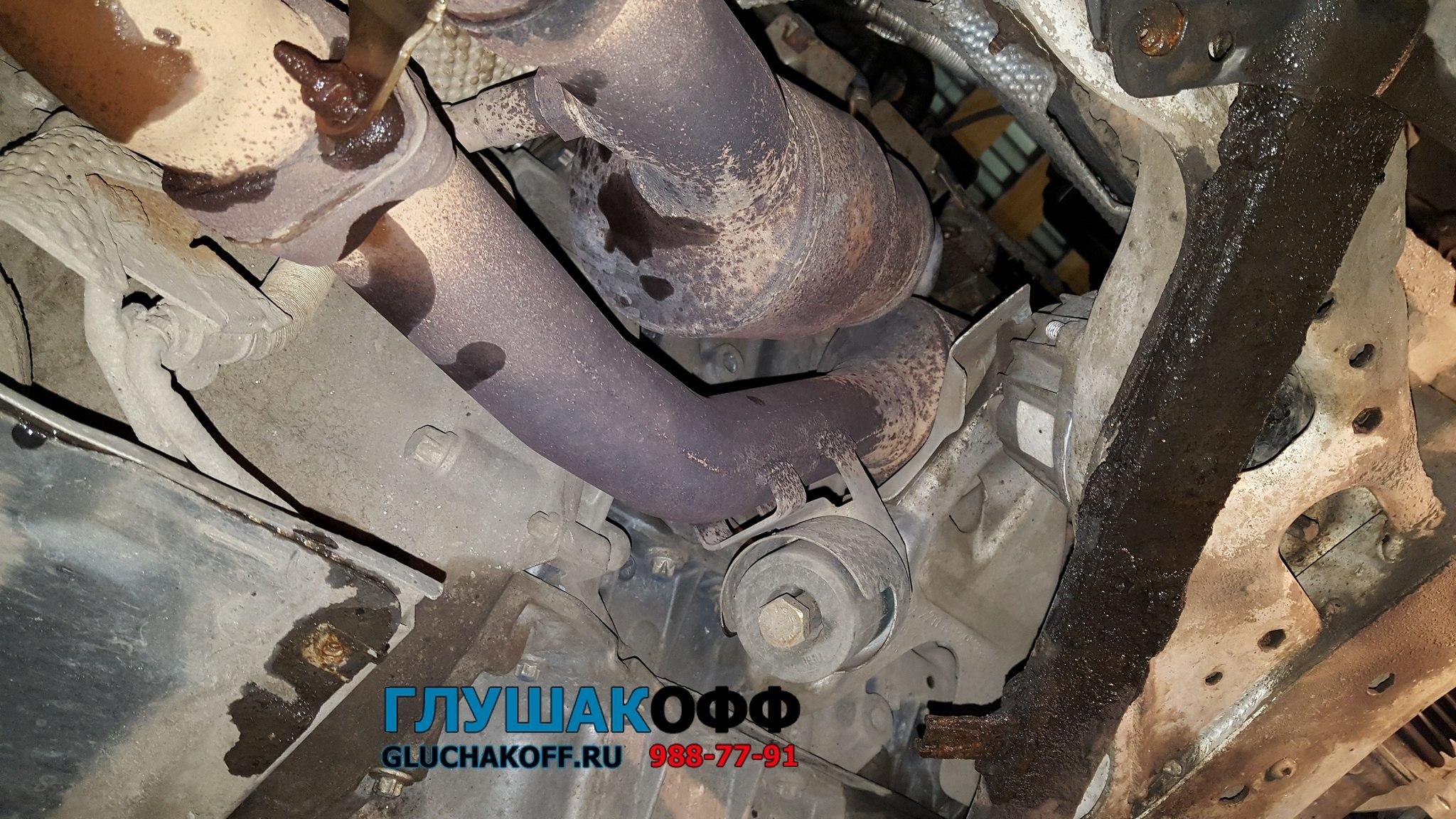 BMW 325i Е90 - Ремонт и замена катализаторов на универсальные