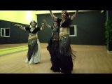 Magenta J American Tribal Style® (ATS®) Trio Tsvetkova, Anna & Fia