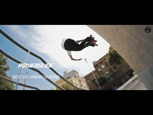 Best of URBAN Skating - POWERSLIDE Inline Skates - Team Freeskate / Freeride Compilation 2016
