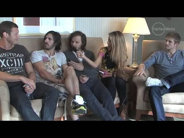 Bradley James, Eoin Macken, Rupert Young Tom Hopper | SUPAN0VA Perth interview [2013-06-28]