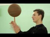 Как научиться крутить мяч на пальце  How to Spin Basketball on Your Finger