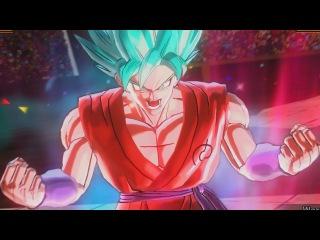 SUPER SAIYAN BLUE GOKU Kaioken x10 & PURE PROGRESS HIT MOVESETS GAMEPLAY | DRAGON BALL XENOVERSE 2